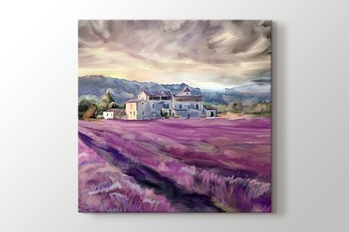 Provence - Lavanta Tarlası görseli.
