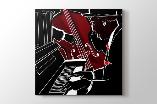 Caz Piano ve Bas görseli.