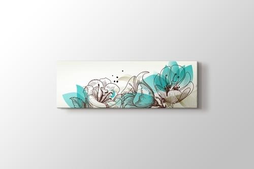 Retro Çiçekler görseli.