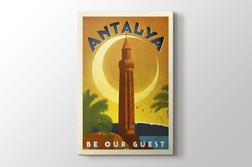 Antalya Yivli Minare görseli.