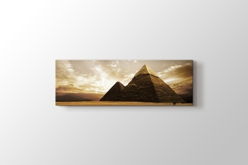 Eagypt - Giza Pyramids görseli.