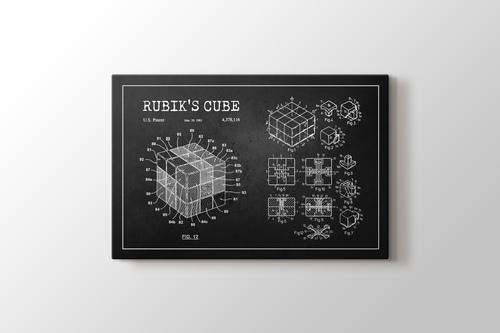 Rubik's Cube Patent görseli.