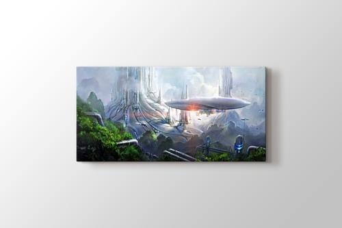 Galactic City görseli.