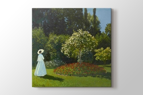 Lady in the Garden görseli.