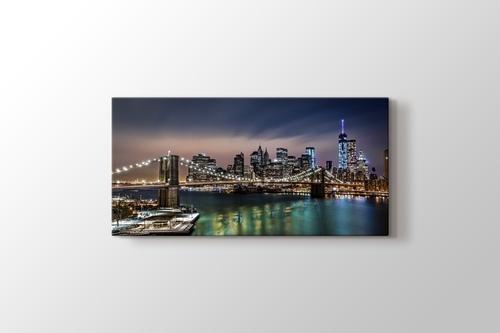 Brooklyn Bridge Night görseli.
