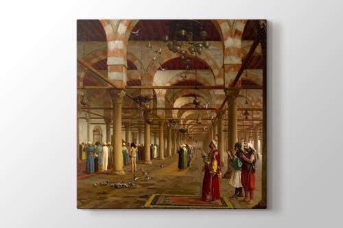 Prayer in the Mosque görseli.