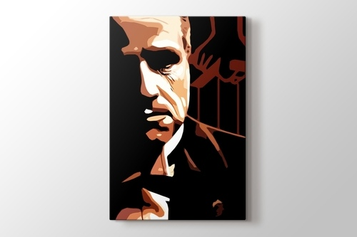 The Godfather - Marlon Brando görseli.