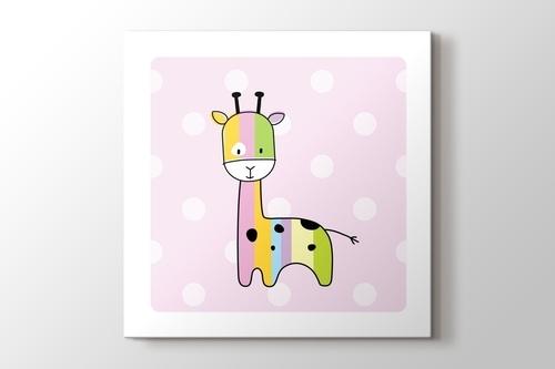 Renki Zürafa görseli.