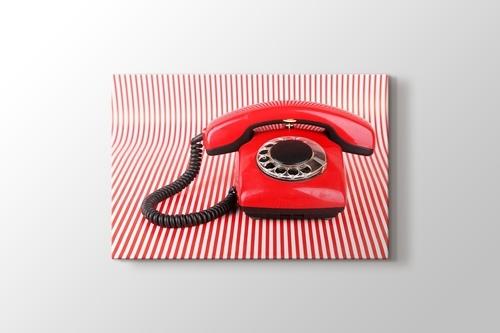 Kırmızı Telefon görseli.