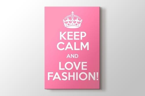 Keep Calm and Love Fashion görseli.
