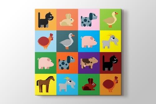 Colored Animals görseli.