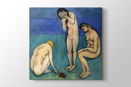 Bathers with a Turtle görseli.
