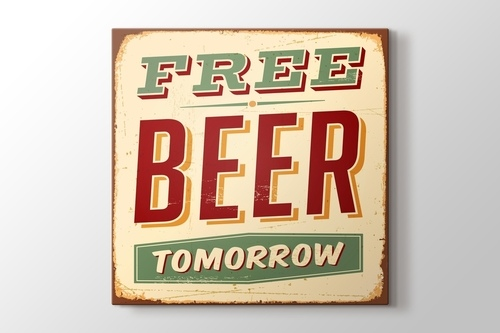 Free Beer Tomorrow görseli.