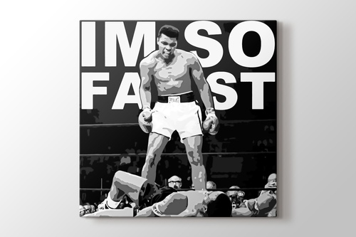 Muhammad Ali - I Am So Fast görseli.