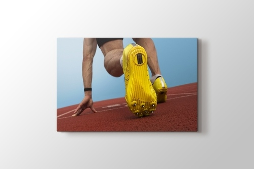 Atlet Start Pozisyonu görseli.