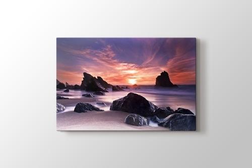 Sunset at Coast görseli.