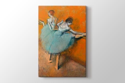 Bailarinas en la barra görseli.