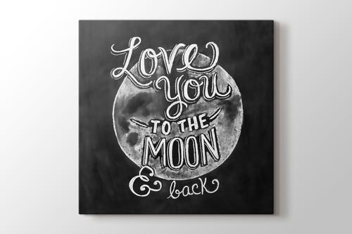 Love You to the Moon & Back görseli.