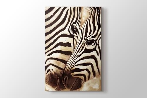 Zebras In Love görseli.