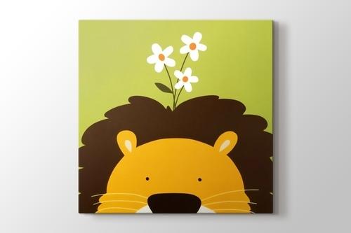 Lion and the Daisy görseli.