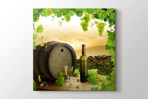 White Wine and Barrel görseli.