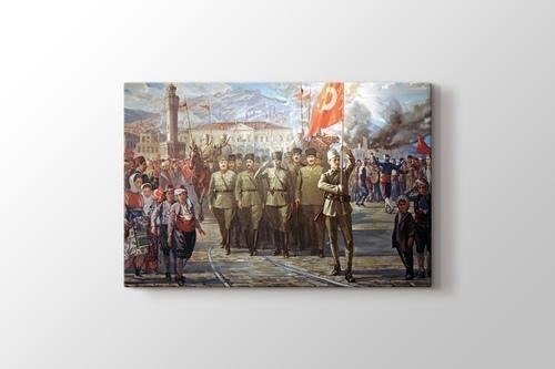 Türk Ordusunun İzmir'e Girişi görseli.