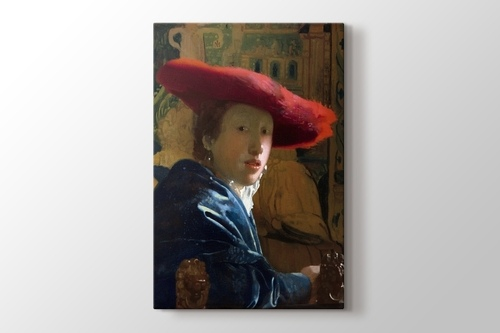 Girl With The Red Hat görseli.