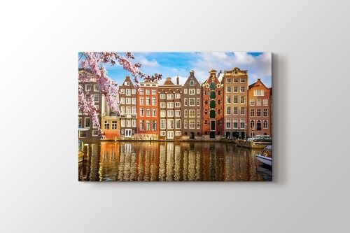 Amsterdam - Canal görseli.