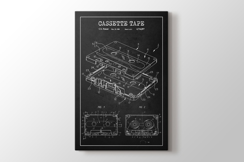 Cassette Tape Patent görseli.