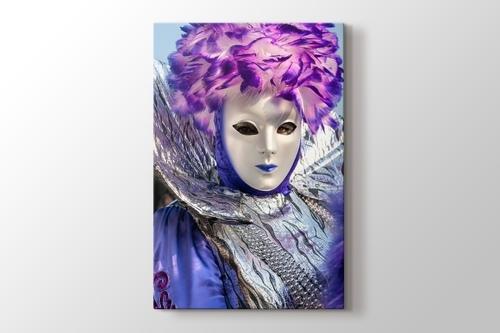 Karnaval Maskeleri Venedik görseli.