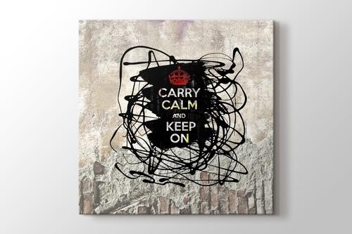 Carry Calm And Keep On görseli.