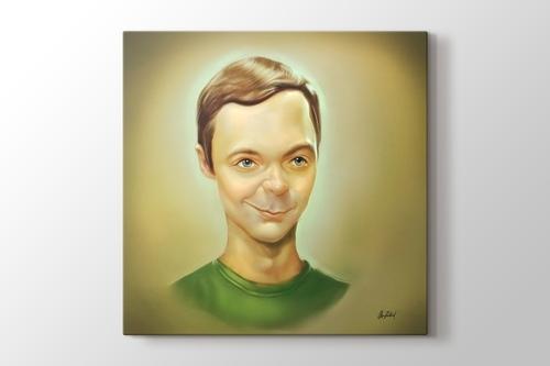 Sheldon Cooper görseli.