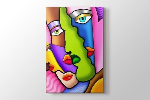 Faces in Colors görseli.