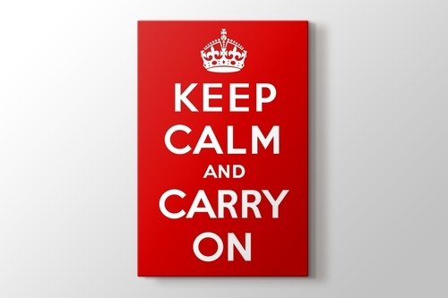 Keep Calm and Carry On görseli.