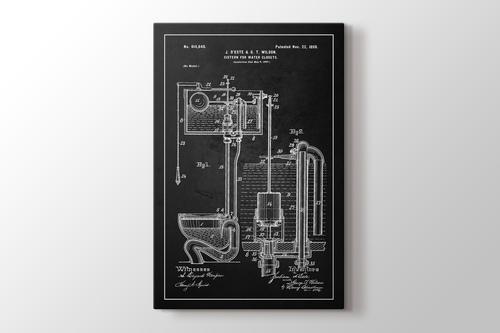 Water Closet Patent görseli.