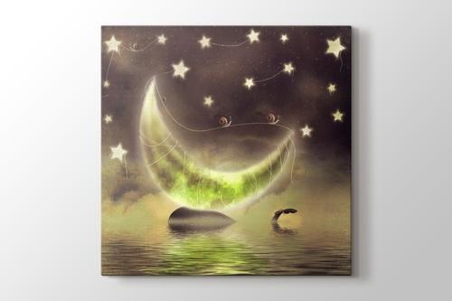 Yeşil Ay görseli.