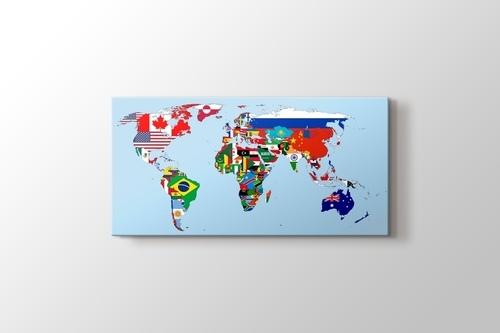 Flags Map 2012 görseli.