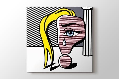 Girl with Tear görseli.
