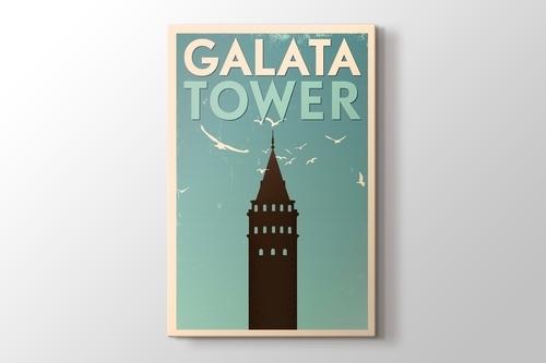 İstanbul Galata Kulesi görseli.
