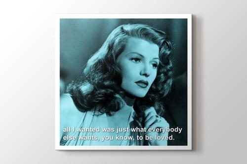 Rita Hayworth - To Be Loved görseli.