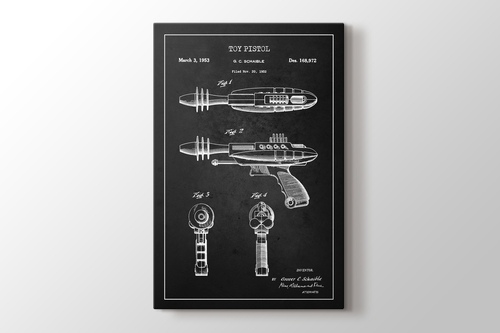 Toy Pistol Patent görseli.