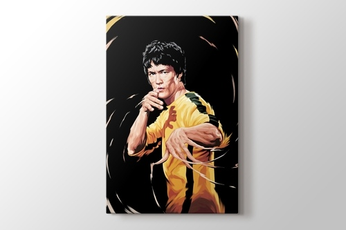 Bruce Lee görseli.