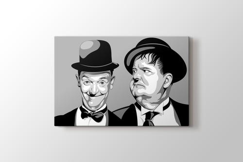 Laurel and Hardy görseli.