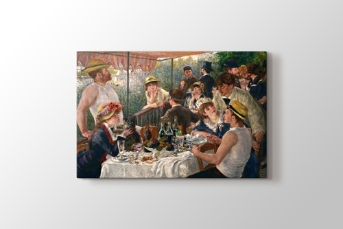 Luncheon of the Boating Party görseli.