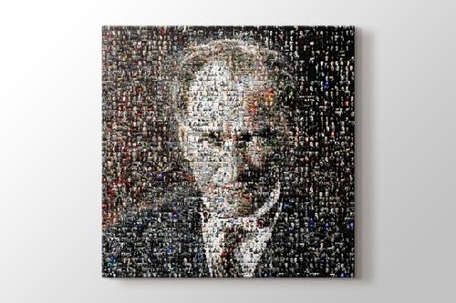 Atatürk mozaik görseli.