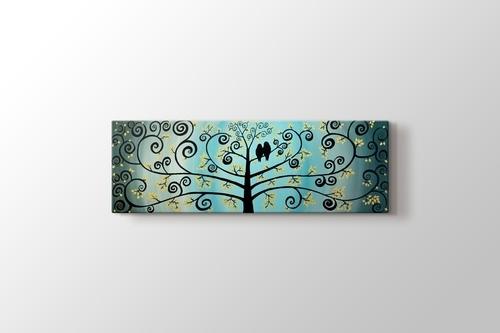 Doves on Tree görseli.