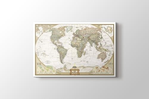 Dünya Siyasi Haritası 2012 görseli.